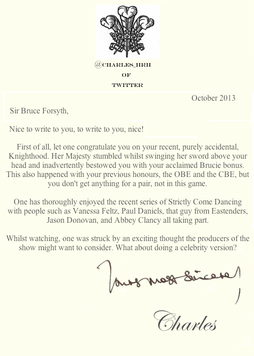 prince_charles_letters  Bruce Forsyth