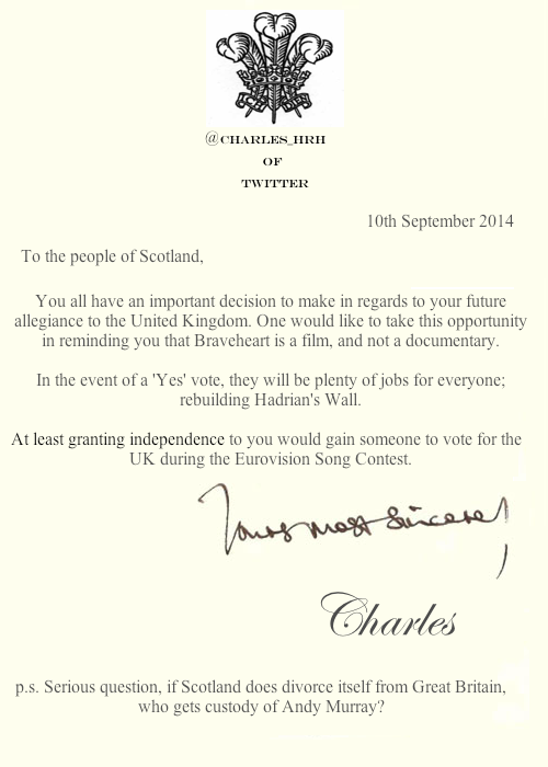 prince_charles_letters Scotland Referendum